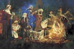Младенецът и пастирите