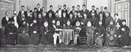 Дейците на църковно-народния събор от 1871 г.