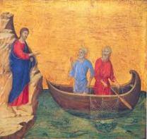 jesus, andrew and john