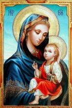 the-virgin-mary-with-gesus.tempera-on-wood.30-x-20cm.collection-of-mons.fabio-attard.malta_