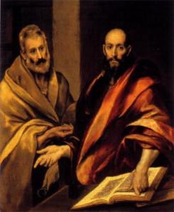 El Greco, The Holy Apostles Peter and Paul