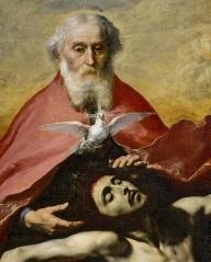 Jose de Ribera, The Holy Trinity