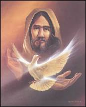 Our Lord sendind the Holy Spirit