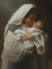 Jesus and His Mother Mary