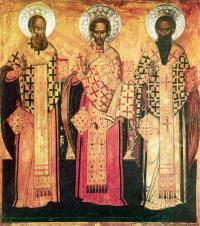 st. basil, st. gregorius theological, st. john hrisostomus