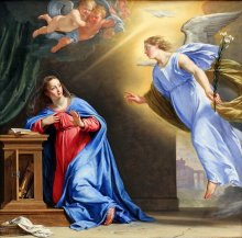 The Birth Of Jesus Foretold - Annunciation