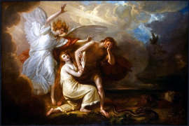 Adam, Eve and the Angel