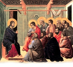 christ and the apostles
