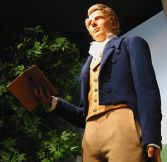 Joseph Smith's figure in the North visitors center