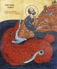 Prophet Ionas and the big Fish
