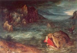 Prophet Ionas on the land