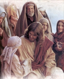 Jesus Christ with people