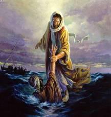 Jesus Christ and St. Peter
