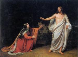 The Appearance of Christ to Mary Magdalene, by Alexander Ivanov, 1834-1836