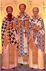 St. Basilius Magnum, St. Gregorius Theologus, St. John Hrisostomus