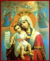 jesus and his mother the virgin mary