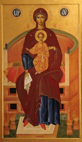 Our Lord Jesus Christ and His Mother St. Mary
