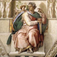 Микеланджело, Св. пророк Исаия