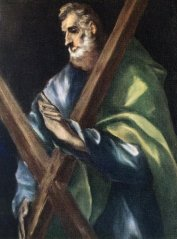 Ел Греко, Св. апостол Андрей