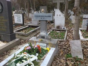 гроба на проф. Глубоковски