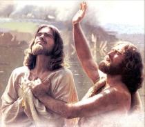 Saint John the Baptist and Jesus