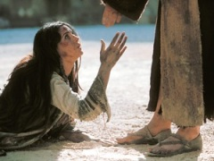 Jesus and the woman caught in adultery