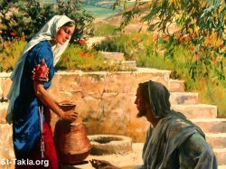 Jesus And the Woman of Samaria 2