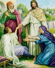 The raising of the widow's son at Nain 2