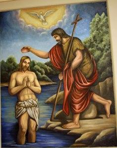 St. John the Baptist and Jesus