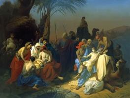 Brothers Sell Joseph into SlaveryKonstantin Flavitsky, 1855