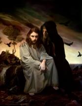 The temptation of Jesus Christ 2