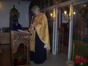 отец Петър Петров - Горубляне
