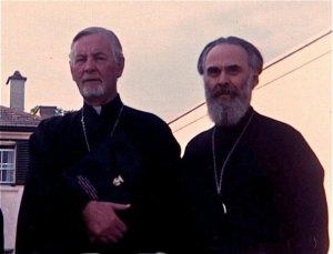 Прот. Александър Шмеман и митрополит Антоний Сурожски